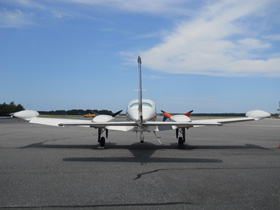1974 Cessna Turbo 310Q N67RK Back