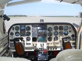 1974 Cessna Turbo 310Q N67RK Cabin