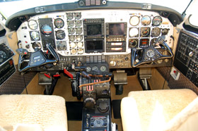 1976 BEECHCRAFT KING AIR 200 Cabin