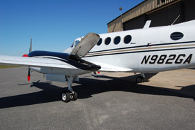 1976 BEECHCRAFT KING AIR 200 closeup