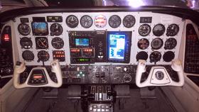 1977 Beech BE-60 Duke-Cabin