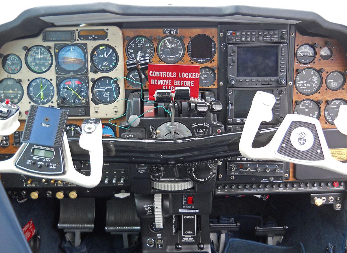 1982 Beechcraft E55 Baron – N515ES ~ SOLD   New York Jet