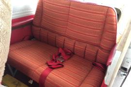 1982 Cessna 172P N64390 Back Seats