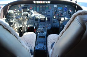 1990 Cessna Citation V N560EL Cabin