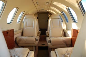 1990 Cessna Citation V N560EL Seats