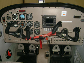 2001 PIPER PA-28-161 WARRIORS III Cabin