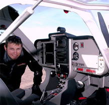 2009 Remos GX Aviator II N214GX 345TT Cabin